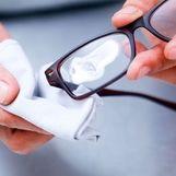 عینکتان  را ضد عفونی کنید + فیلم