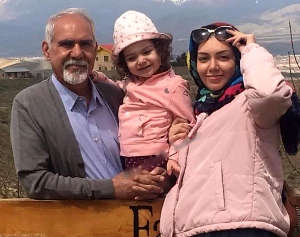 آخرین فیلم دردناک مرحوم آزاده نامداری و دخترش + عکس آزاده نامداری و همسرش