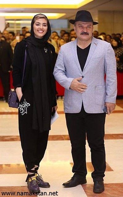 عکس جدید از ریحانه پارسا و مهدی سلطانی در جشن حافظ