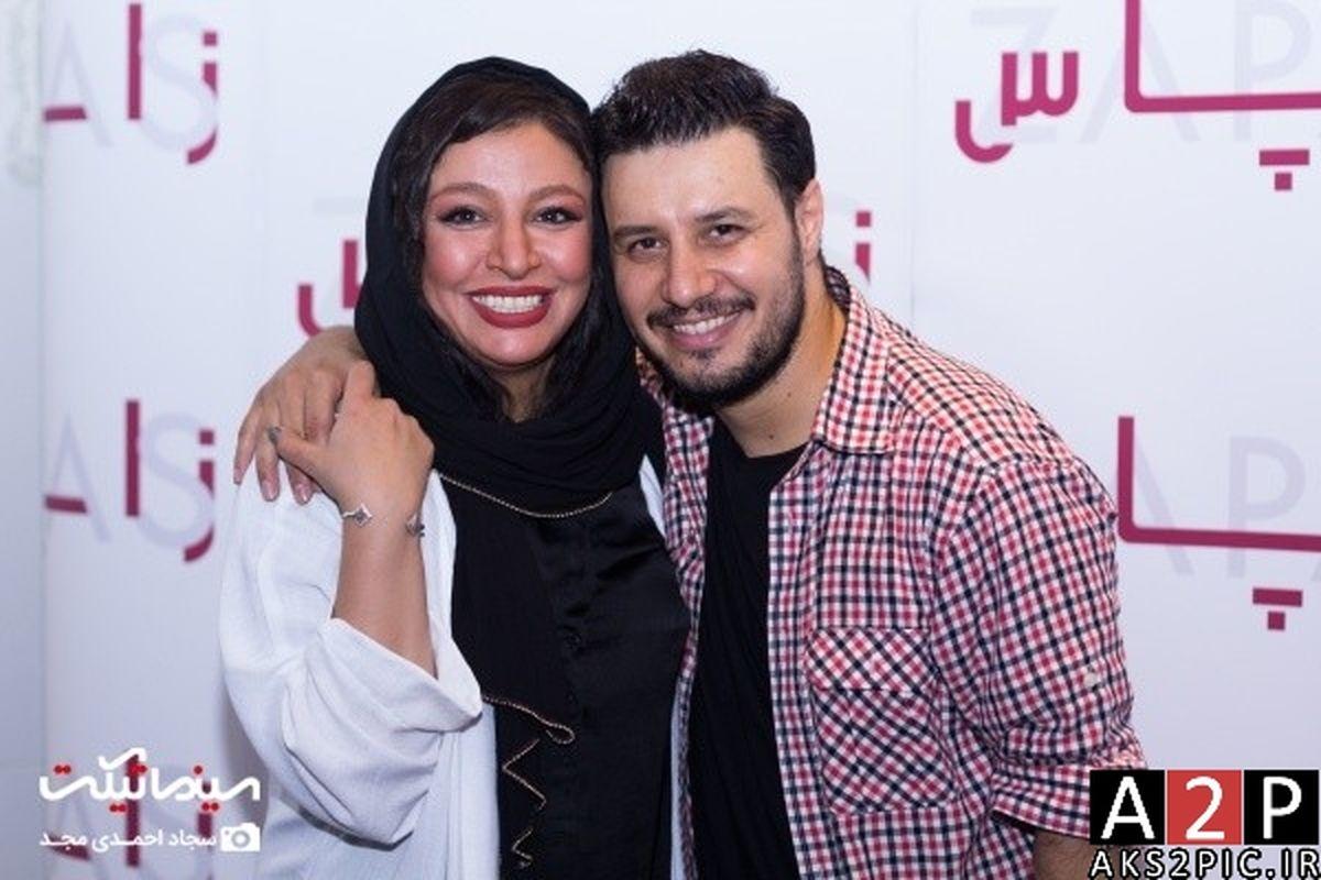 عاشقانه های دیده نشده جواد عزتی و همسرش + تصاویر