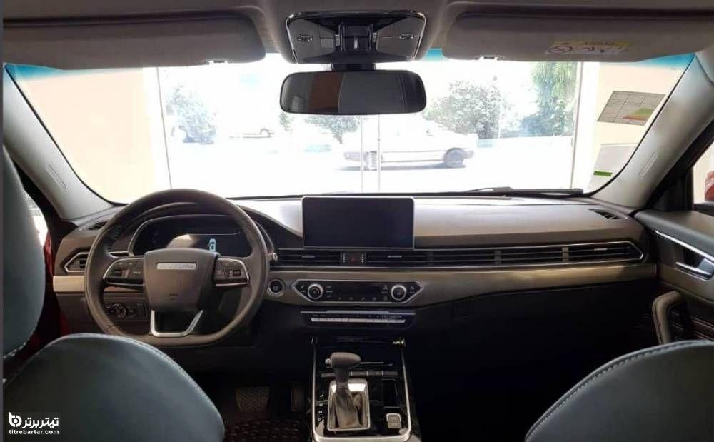 طراحی داخلی خودرو