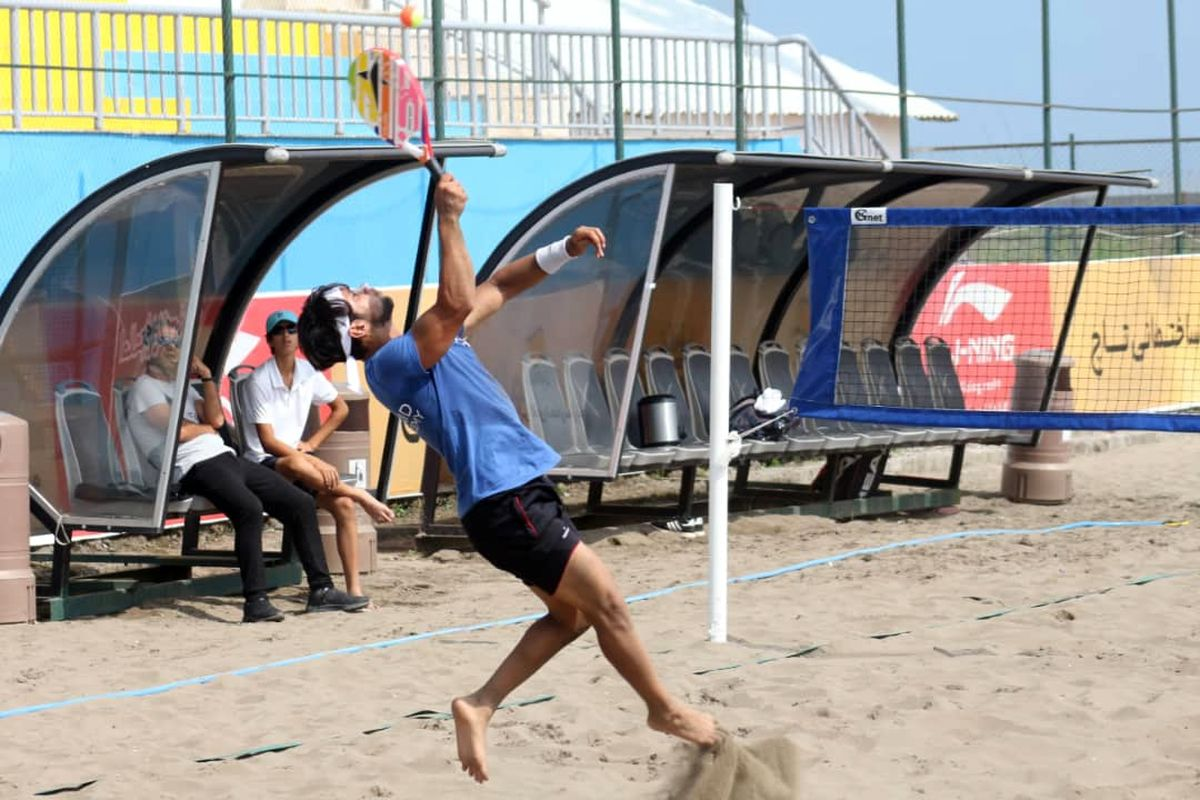 آغاز بکار لیگ تنیس ساحلی کشور در منطقه آزاد انزلی