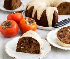 آموزش و طرز تهیه کیک خرمالو و خوشمزه پاییزی