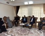 مدیرعامل با خانواده شهید ابراهیمی دیدار کرد