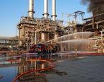 آتشسوزی در پتروشیمی بندر امام با موفقیت اطفاء شد