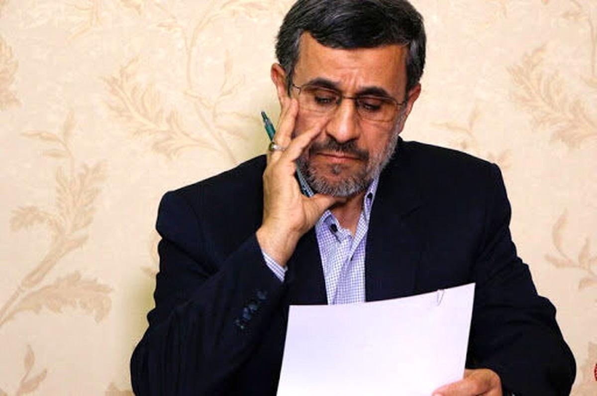 ماجرای صحبت های احمدی نژاد علیه خجسته + جزئیات