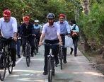 دردسر دوچرخهسواری برای وزیر جوان