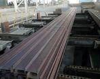 آغاز تولید تیرآهن فوق سبک صادراتی در کارخانه نورد تیرآهن گروه ملی