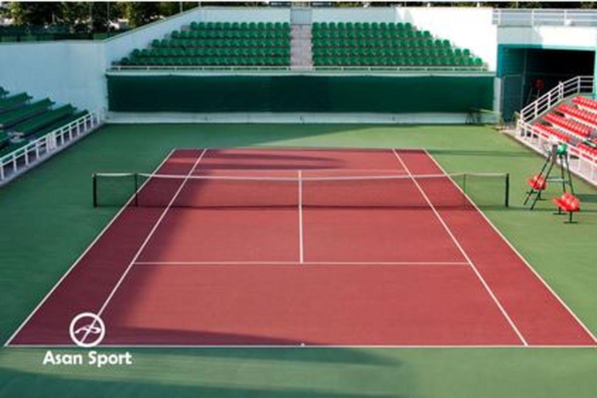 اجاره آنلاین زمین تنیس در ایران در asan sport