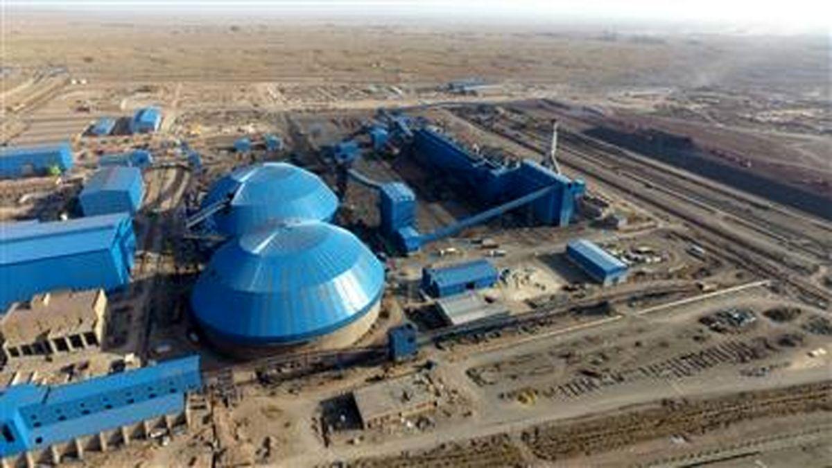 افزایش 50 درصدی تولید گندله در فولاد سنگان
