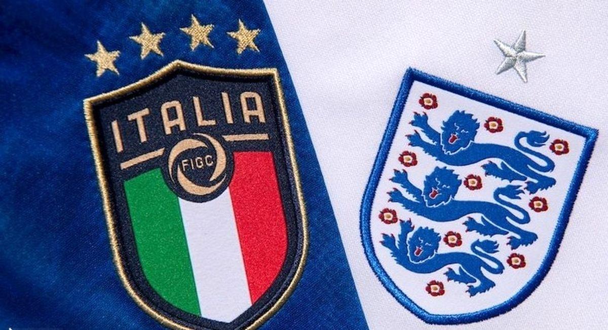 زمان و ساعت دیدار جذاب تیم های ایتالیا و انگلیس