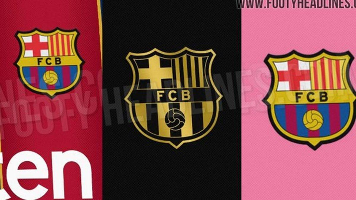 رنگ پیراهن دوم بارسلونا مشخص شد
