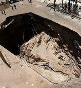 فرونشست زمین در پاکدشت تهران + فیلم