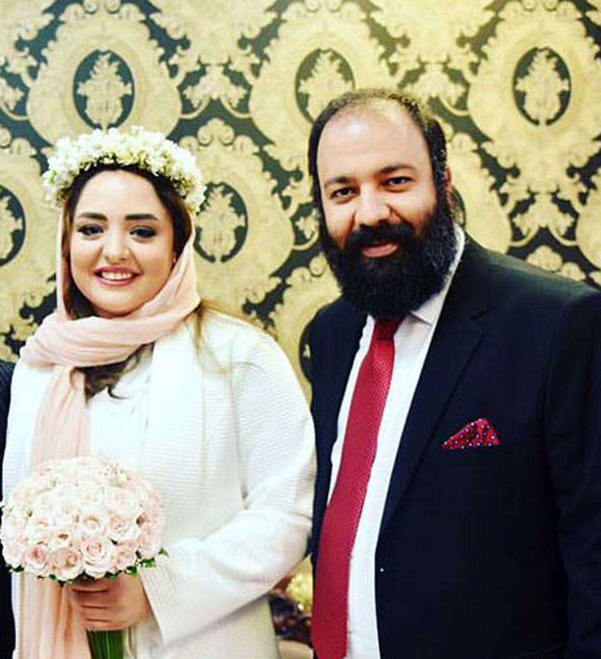 سالگرد ازدواج بازیگر سریال ستایش | خواستگاری از نرگس محمدی در حرم امام رضا