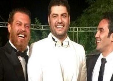 عکس های لو رفته از مراسم ازدواج سام درخشانی و همسرش در تالار + تصاویر