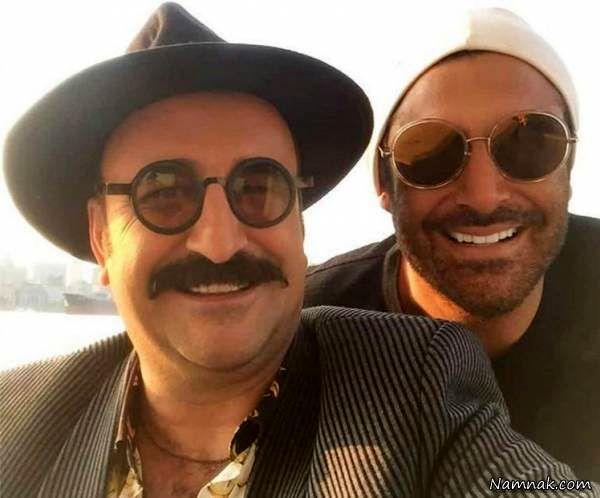 محمدرضا گلزار و مهران احمدی