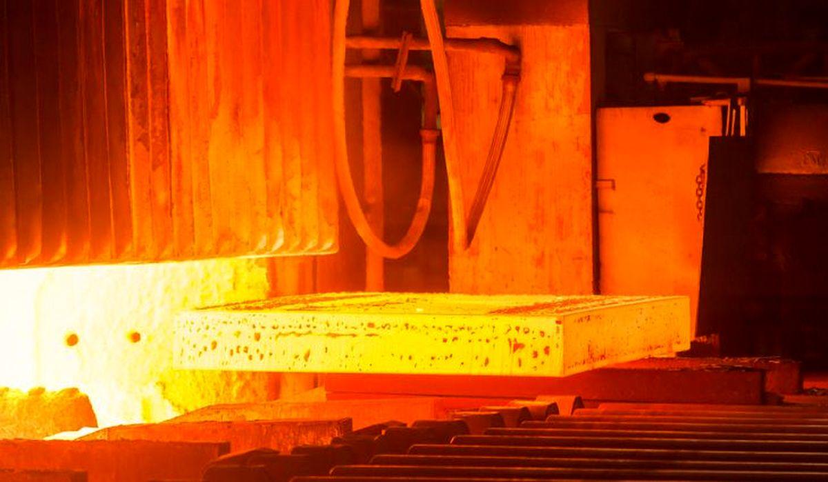 رشد 12 درصدی تولید جهانی فولاد خام/افزایش 9.9 درصدی تولید ایران