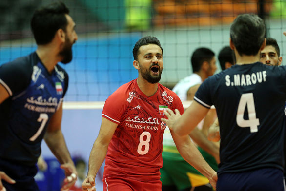 ساعت بازی والیبال ایران و هند | چهارشنبه 27 شهریور
