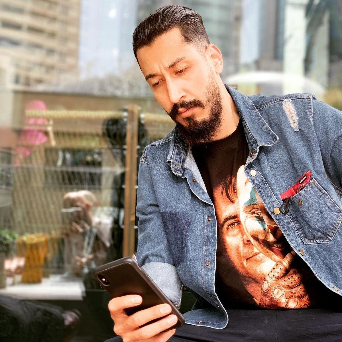 بیوگرافی بهرام افشاری بازیگر نقش پیام در سریال میدان سرخ | عکسهای بهرام افشاری