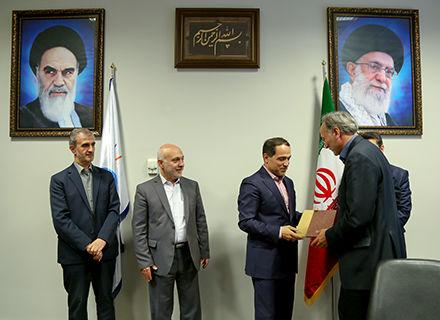 انتصاب سرپرست دفتر پیمان و امور قراردادهای شرکت شهر فرودگاهی امام خمینی (ره)