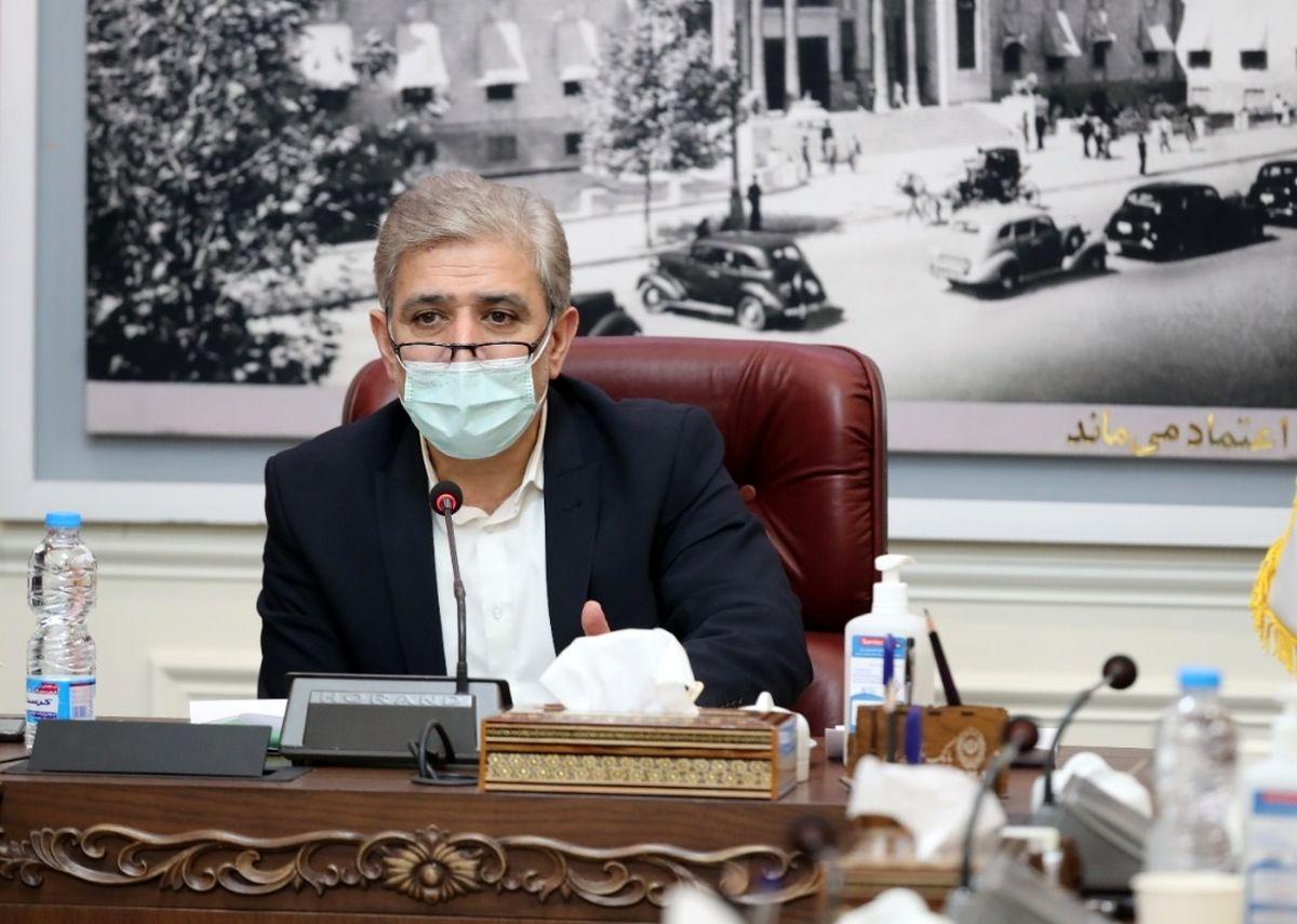 دیدار صمیمانه اعضای فراکسیون شاهد مجلس با مدیر عامل بانک ملی ایران