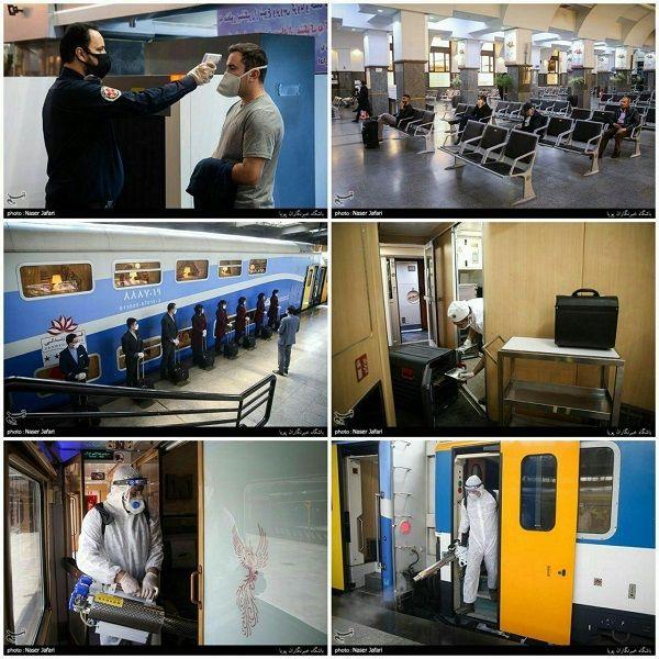 راهآهن تهران در روزهای شیوع کرونا