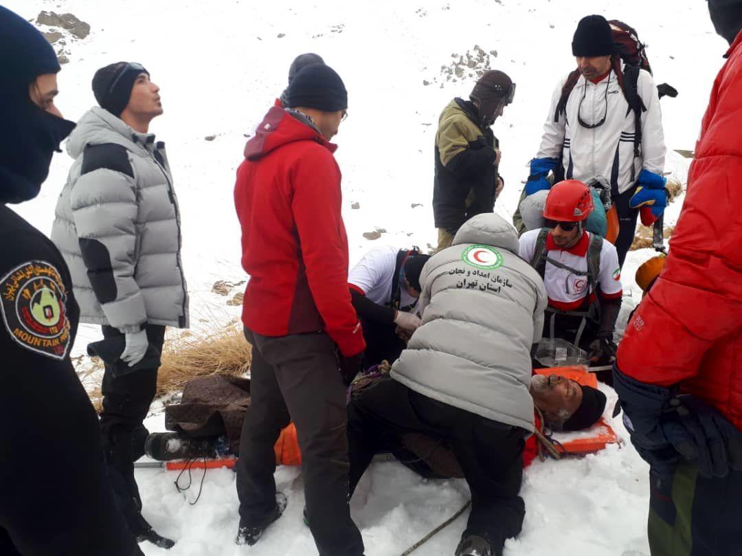 حادثه وحشتناک در پیست اسکی دربندسر فاجعه آفرید + فیلم