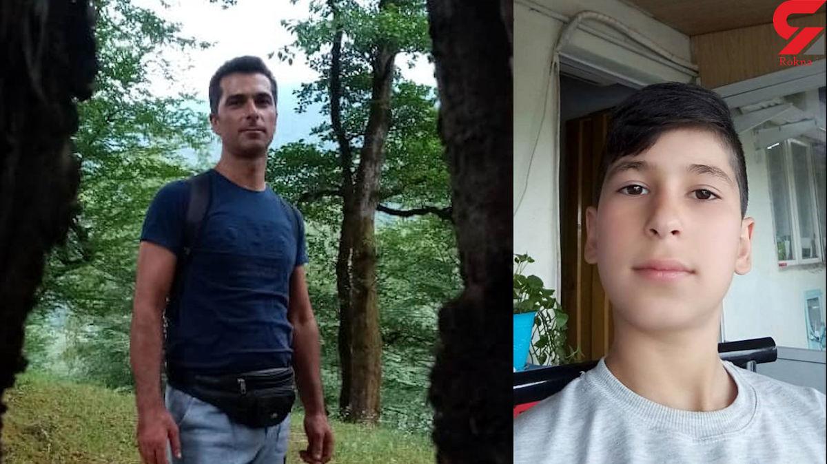 زنده زنده سوختن پسر نوجوان و پدرش در تنکابن + جزئیات تلخ