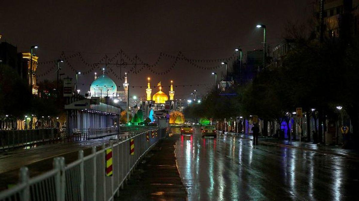 اعلام محدودیتهای تردد شب یلدا در مشهد