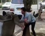 اولین صحبت های فرد اهانت کننده به کودک زباله گرد +فیلم