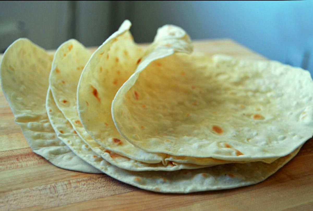 طرز تهیه پخت نان لواش در منزل و البته بدون فر