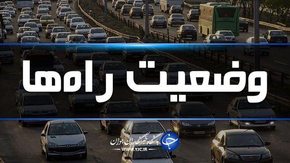 آخرین وضعیت جوی و ترافیکی جادههای کشور در ۵ فروردین ماه