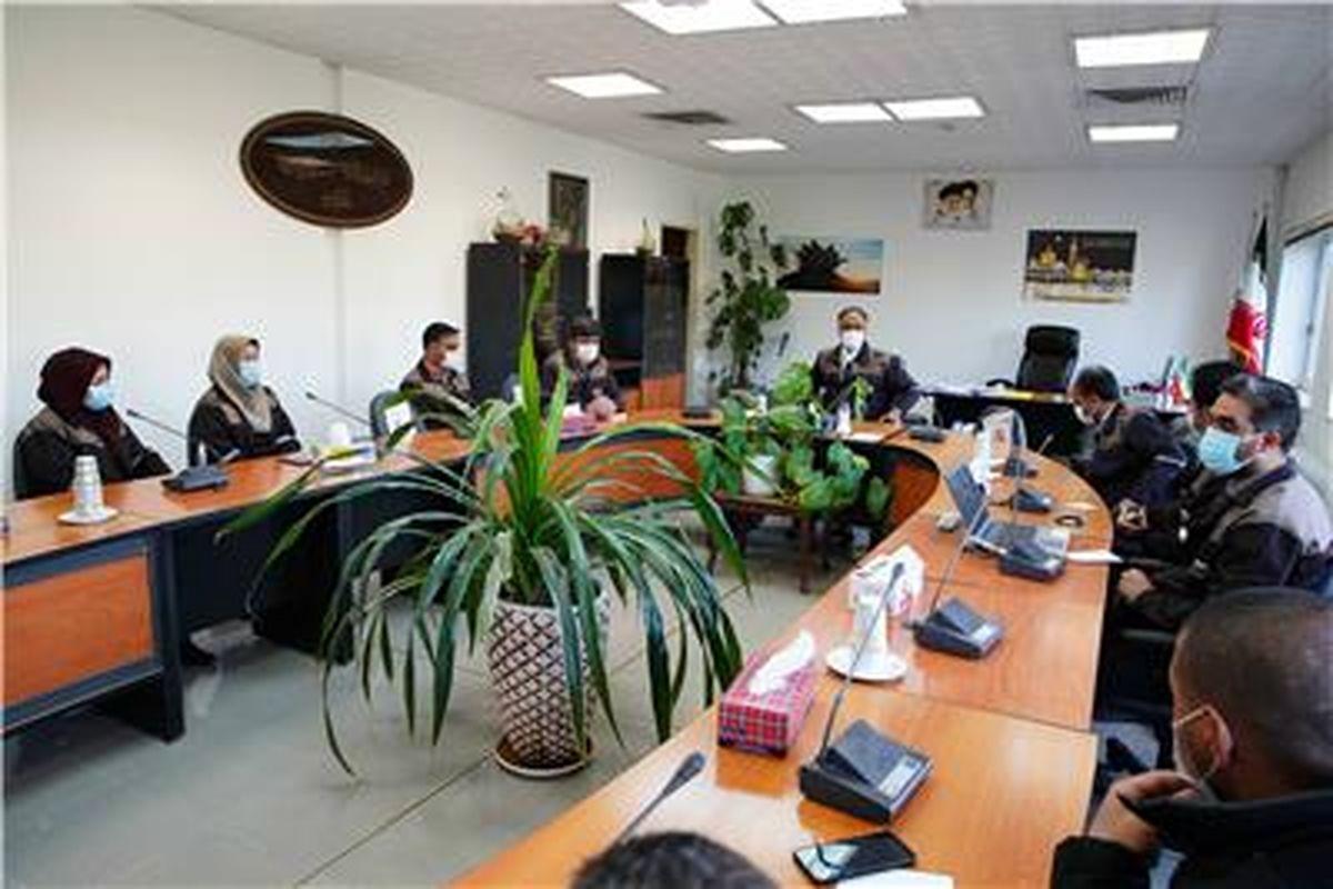 جلسه معاونت فنی و بهره برداری مجتمع سنگان برگزار گردید