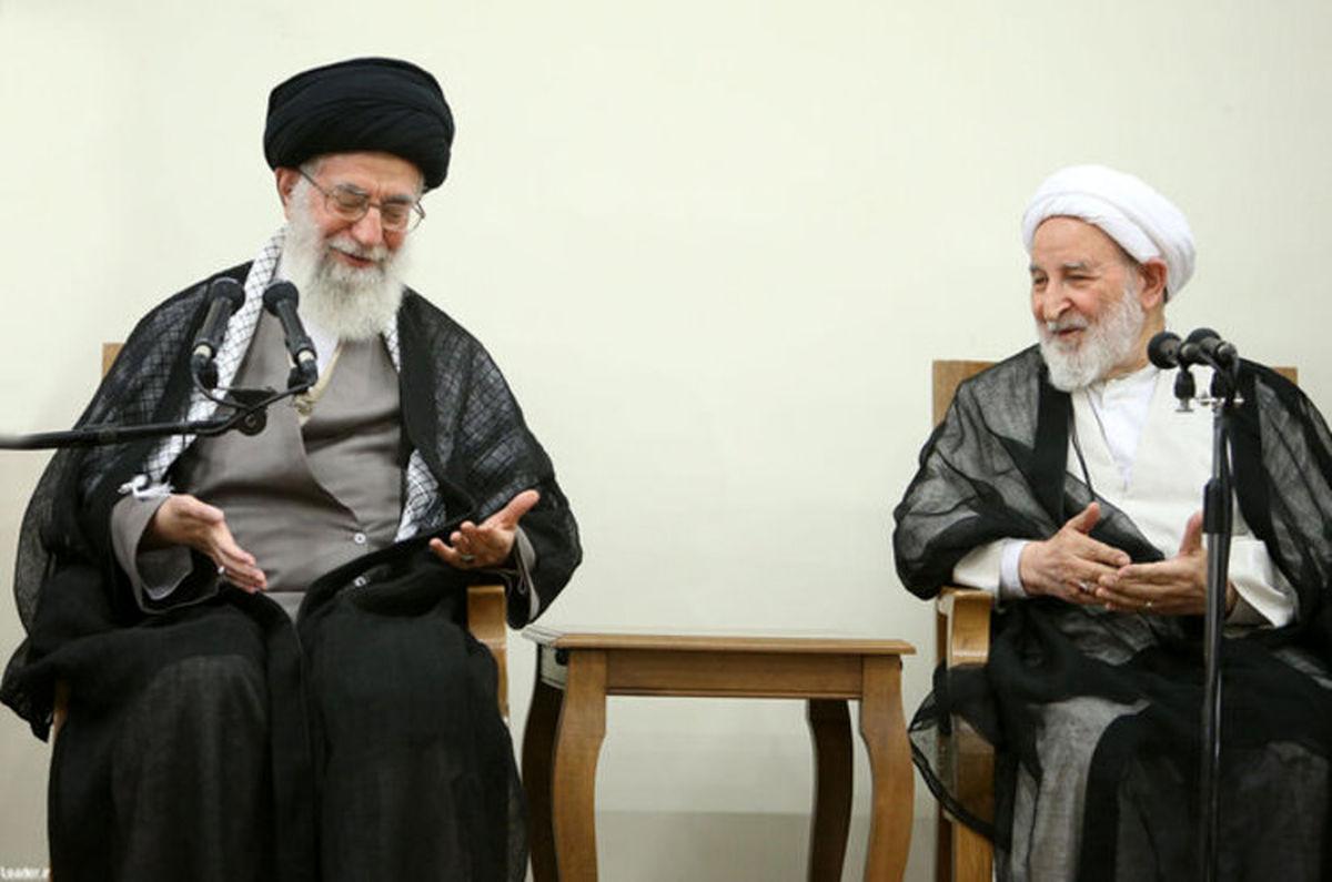 تسلیت رهبری در پی درگذشت آیت الله یزدی
