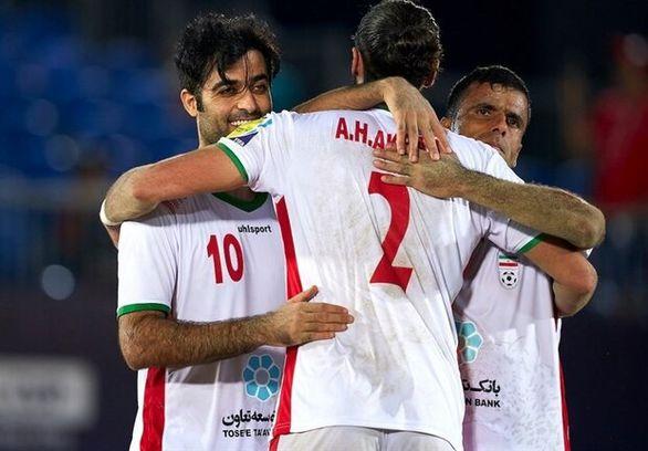فوتبال ساحلی ایران قهرمان شد + خلاصه مسابقات