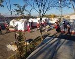 امدادرسانی ۳۰ تیم عملیاتی در مناطق زلزلهزده آذربایجان شرقی
