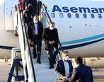 استقبال از رزم حسینی در فرودگاه شهید صدوقی توسط استاندار، نمایندگان و مسئولان استان یزد