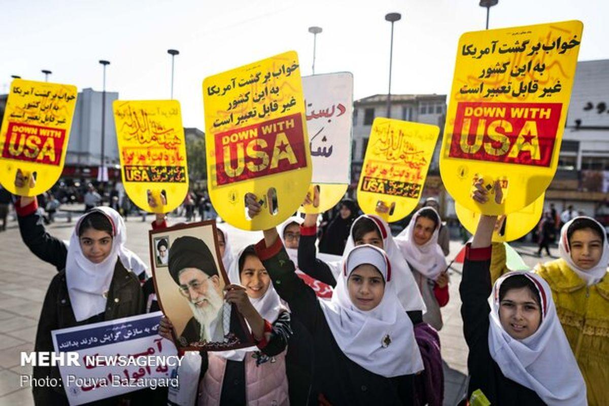 خدماترسانی متروی تهران در روز ۱۳ آبان