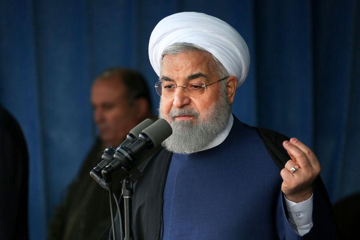 سخنرانی حسن روحانی در روز 22 بهمن