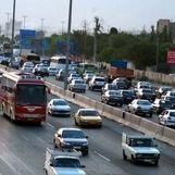 ترافیک سنگین در ورودیهای مشهد