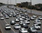 وضعیت ترافیک در مسیرهای خروجی تهران