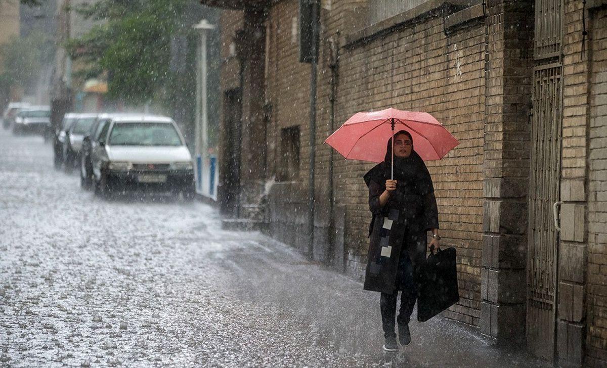 ادامه بارشها در کشور تا شنبه