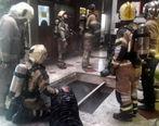 جزئیات آتش سوزی در مجتمع طلاسازی در بازار تهران