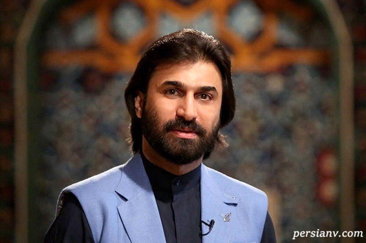چهره عجیب و جالب صابر خراسانی مجری معروف جنجالی شد + عکس