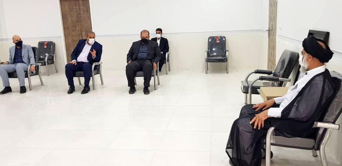 دیدار مدیرعامل فولاد خوزستان با نماینده ولی فقیه در استان خوزستان