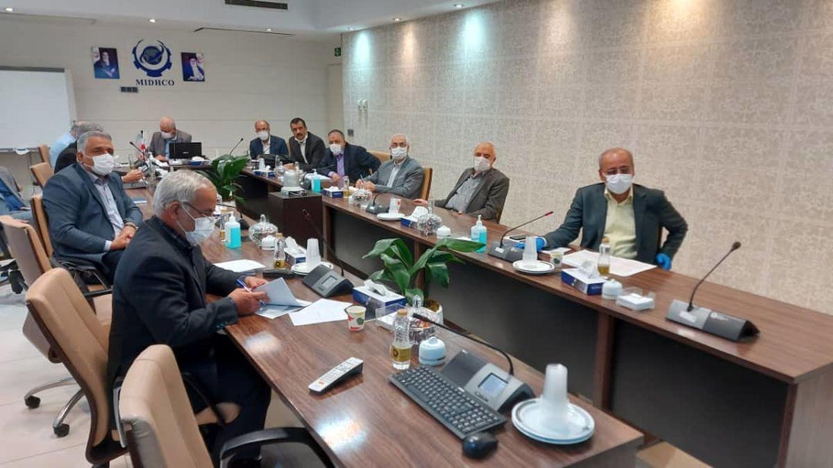 یکصد و سی و دومین جلسه تولید شرکت میدکو برگزارشد