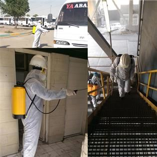 اقدامات پیشگیرانه شرکت فولاد هرمزگان در مقابله با شیوع ویروس کرونا