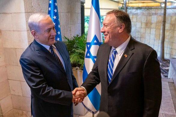 گفتوگوی پمپئو و نتانیاهو درباره ایران