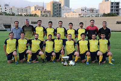 نایب قهرمانی تیم فوتبال بانک ملی ایران در مسابقات شبکه بانکی
