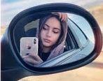 فیلم لورفته از ماشین لوکس و لاکچری ترلان پروانه در خیابان های تهران + فیلم